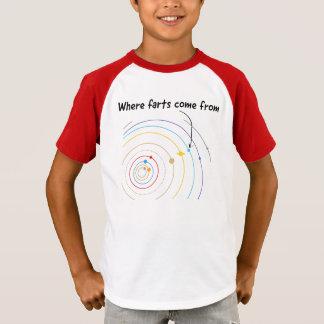 Von wo Furzen kommen T-Shirt