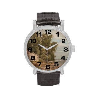 Von Wrights Lehtisaari Kunstuhren Uhr