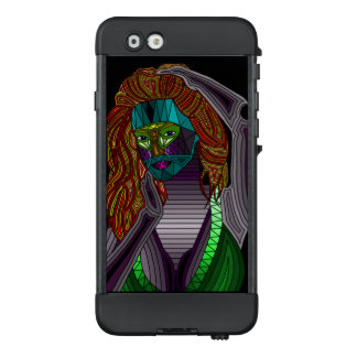 Voodoo-Dame Abstract Phone Case