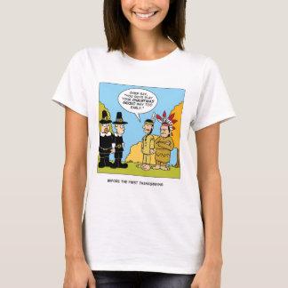 Vor dem ersten Erntedank T-Shirt