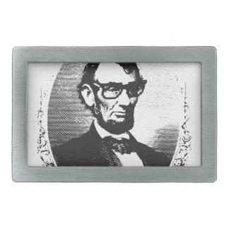 Vor Lincoln, das so achtzig und sieben Jahren ist Rechteckige Gürtelschnalle
