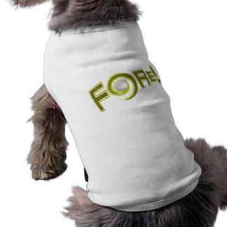 VORDER!  kundenspezifische Haustierkleidung T-Shirt