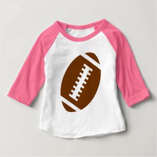 Vordere Fußball-Grafik FUSSBALL-BABY Rosa-| Baby T-shirt
