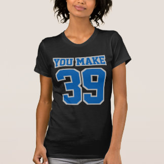 Vordere SCHWARZE BLAUE SILBERNES GRAU T-Shirt