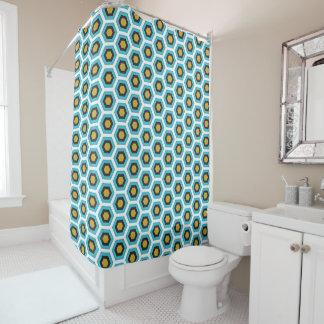 Vorhang geometrischen Bades Formen