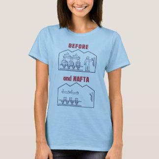 Vorher und NAFTA T-Shirt