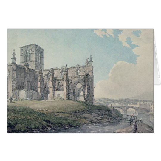 Vorherige Kirche, Haddington, 1786 Karte