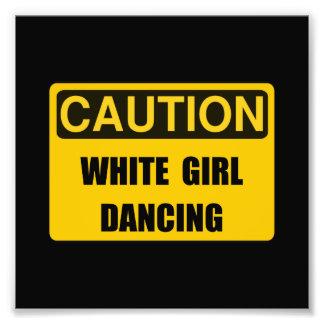 Vorsicht-Mädchen-Tanz Photographien