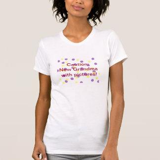 Vorsicht: Neue Großmutter mit Bildern! T-Shirt