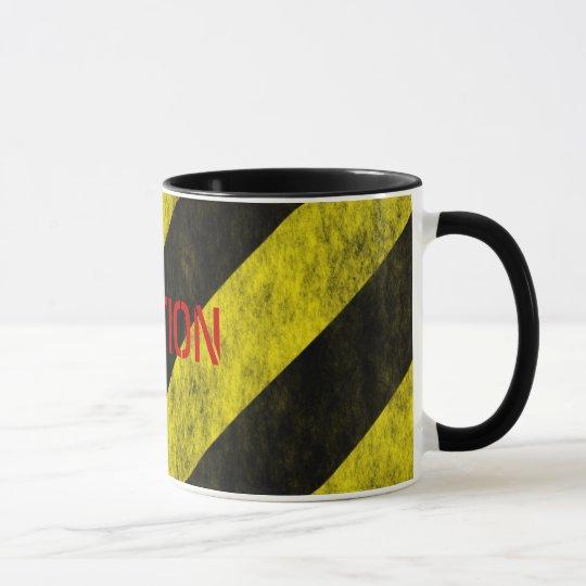 VORSICHT Sicherheits-Streifen-Band Tasse
