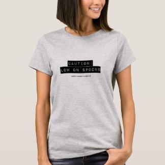 Vorsicht: Tief auf Löffel-T-Stück T-Shirt
