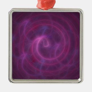 VortexPortal Silbernes Ornament