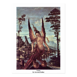Vorzug durch Giovanni Bellini Postkarte