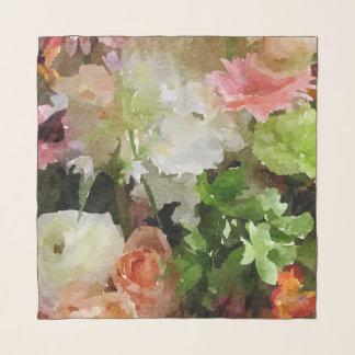 Vorzügliches Blumenstrauß-Pfirsich-, rosa und Schal