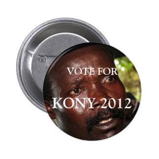 Vote pour Kony 2012 Badges