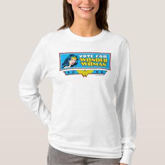Vote pour la femme de merveille t-shirt