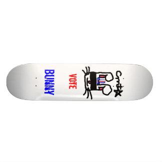 Vote pour le lapin skateboards customisés