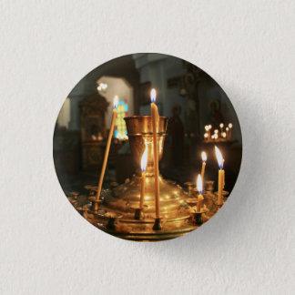 Votive Kerzen in Kasachstan-Knopf Runder Button 3,2 Cm