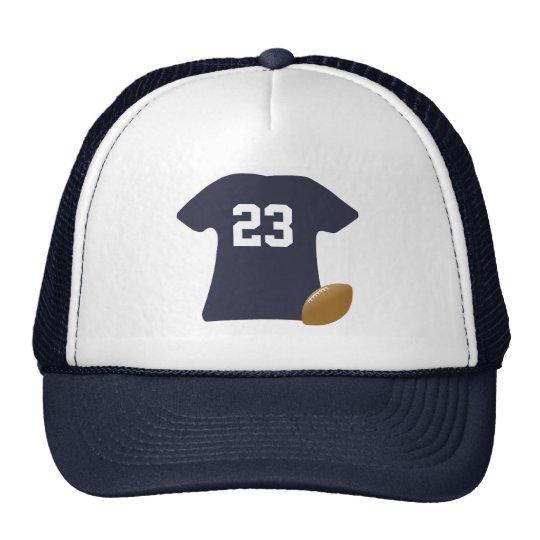 Votre chemise du football avec la boule casquette trucker