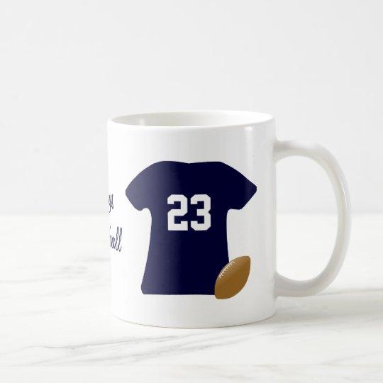 Votre chemise du football avec la boule mug