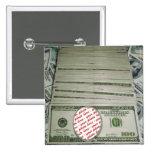 Votre visage sur les $100 Bill ! Carte photo Badge Avec Épingle