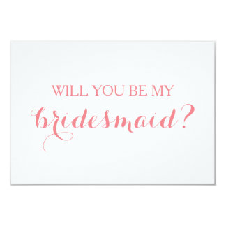 Vous serez ma carte nuptiale de partie de carte de carton d'invitation 8,89 cm x 12,70 cm
