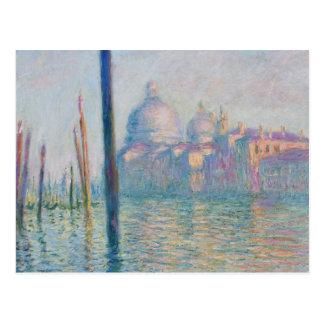 Voyage de Venise Italie de canal grand de Claude Carte Postale