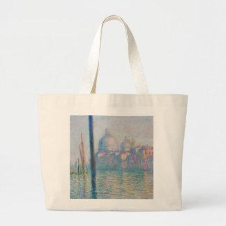 Voyage de Venise Italie de canal grand de Claude Sac En Toile Jumbo
