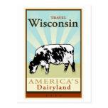 Voyage le Wisconsin Carte Postale