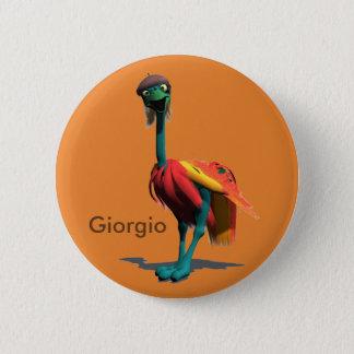 Voyager-Maskottchen-Knopf-Sammlung - Giorgio Runder Button 5,1 Cm