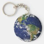 Vraie photographie de monde Keychain Porte-clés