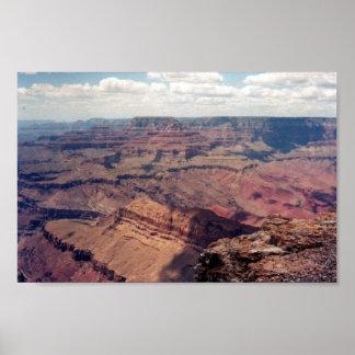 Vue de canyon grand affiches