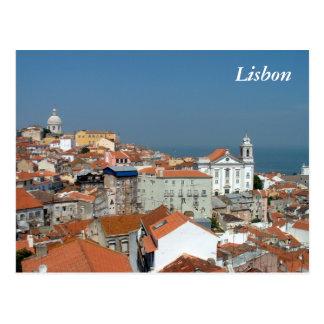 Vue panoramique de Lisbonne Carte Postale