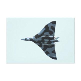 Vulcan Bomber im Flug Leinwanddruck