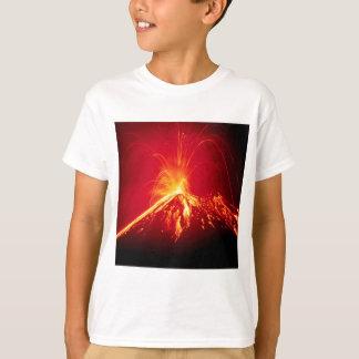 Vulkan-heiße Lava Costa Rica 1991 T-Shirt