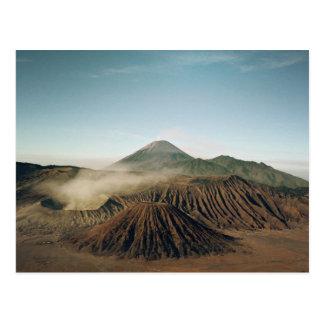 Vulkanische Ansicht Postkarte