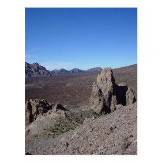 Vulkanische Landschaft Postkarte