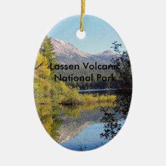 Vulkanische Nationalparkverzierung Lassens Keramik Ornament
