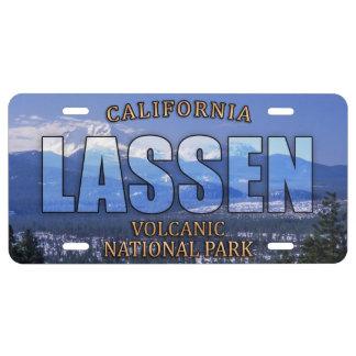 Vulkanisches Nationalpark-Fronten-Kfz-Kennzeichen US Nummernschild