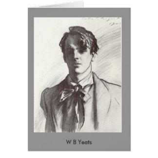 W.B. Yeats Karte