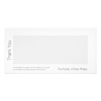 W-Schablonen-Beileid danken Ihnen addieren Karte