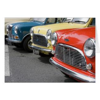 WA, Seattle, klassisches britisches Automobil Karte