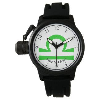 Waage Uhr
