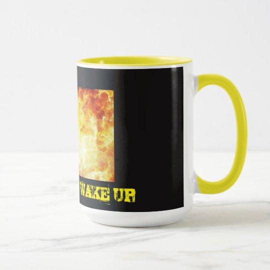 wachen Sie Anruf auf Tasse