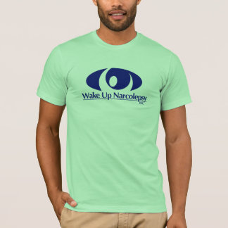 Wachen Sie den T - Shirt der Narcolepsy-Männer auf