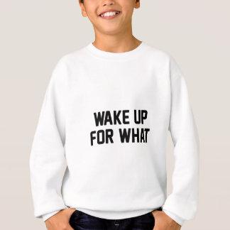 Wachen Sie für auf, was Sweatshirt