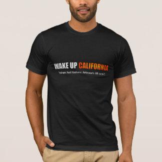 Wachen Sie Kalifornien-Shirt auf T-Shirt