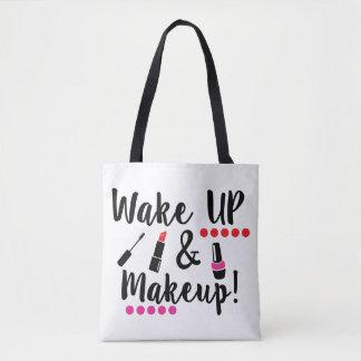 Wachen Sie und Make-upTasche auf Tasche