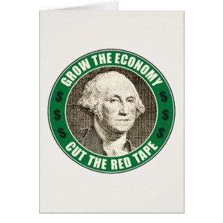Wachsen Sie die Wirtschaft Karte