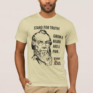 Wachsen Sie einen Bart und ein PAAR! T-Shirt